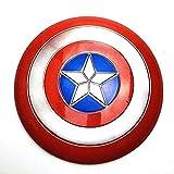 ACEMIC Captain America Shield 11.8-i Bouclier en Plastique Version du Film Légendes Série Réplique Marvel Prop Avengers Accessoires De Poche Modèle Décoration Avengers 4 Jouets pour Adultes