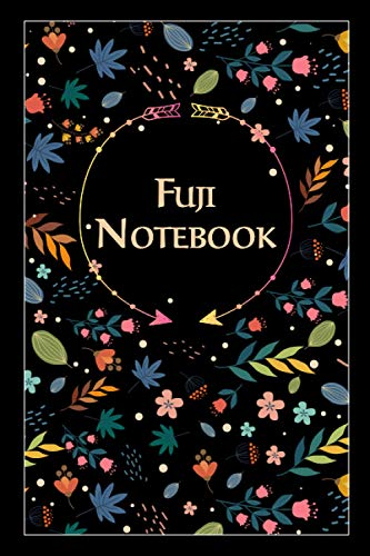 Fuji Notebook: Lined Notebook/Journal Cute Gift for Fuji, Elegant Cover, 100 Pages of High Quality, 6
