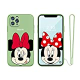 for iPhone 6 Plus Case, iPhone 6S Plus Case, Slim Cartoon Kids Girls TPU Straight Edge Liquid Shockproof Protector Cover for Apple iPhone 6S Plus/6 Plus 5.5'' with Free Lanyard Gift…