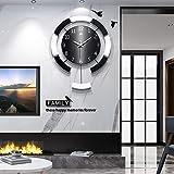 Tongyi Coole einfache Uhr Wanduhr Wohnzimmer kreative Holz Uhr Haus Kunst Dekoration Quarzuhr...