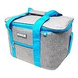 ToCi - Bolsa isotérmica para picnic, camping, vacaciones, senderismo, barbacoas, Nevera portátil de 14 litros.