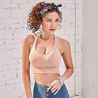 Pusaman Women's Sportswear,Women Push Up Seamless Sports Bra Workout Female Sport Top Crop Fitness Active Wear for Yoga Gy...