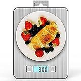IAB Bilancia Cucina Digitale con Gancio, 15kg/ 33lb-1g Precisione Smart Bilancia da Cucina con...