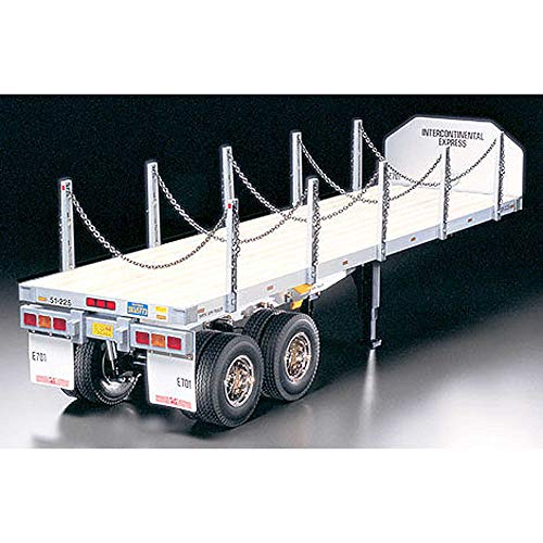 TAMIYA America, Inc 1/14 Semi Flatbed Trailer Kit, TAM56306
