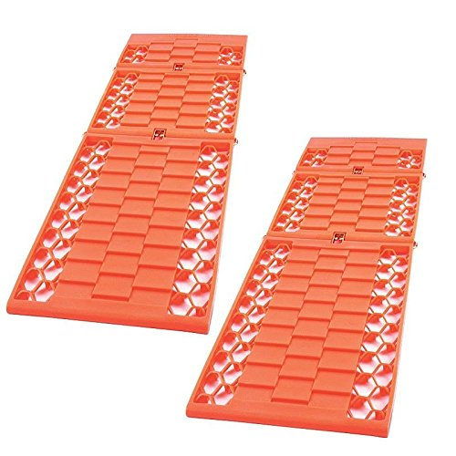 2x Good Ideas Car Van Rescue Wheel Tyre Traction Mats. Grip Track for Cars,...