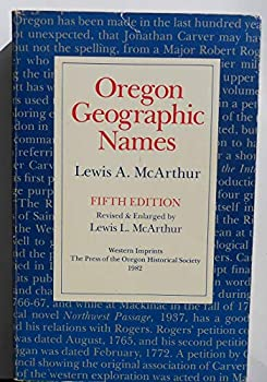 Paperback Oregon geographic names Book