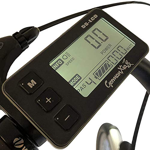 GermanXia Elektro-Faltrad Mobilemaster Touring CH 7G Shimano 20 Zoll, eTurbo 250 Watt HR-Antrieb, bis zu 138 km Reichweite nach StVZO Bild 3*