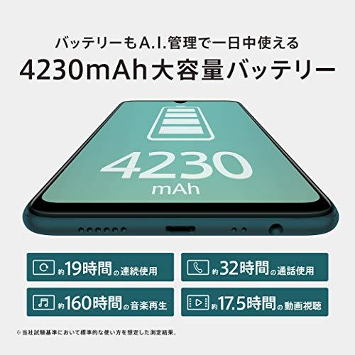 OPPOAX7ブルー【日本正規代理店品】CPH1903(BL)