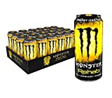 Monster Rehab Tea + Lemonade + Energy, Energy Iced Tea, 15.5 Ounce (Pack of 24)