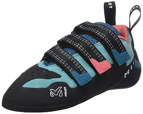 Millet LD Cliffhanger, Zapatos de Escalada para Mujer, Multicolor (Pool Blue/Peach 000), 36 EU