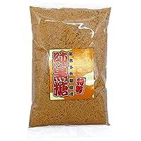 沖縄 黒糖 粉末 350g 宮古多良間島産 特等 純黒糖 お試し用