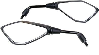 MotorToGo Black Rear View Mirrors for 2000 Yamaha Road Star MM XV1600AL