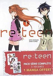 Re:Teen Pack série complète Tomes 1 à 3