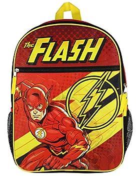 DC Comics The Flash 16  Flat front Backpack