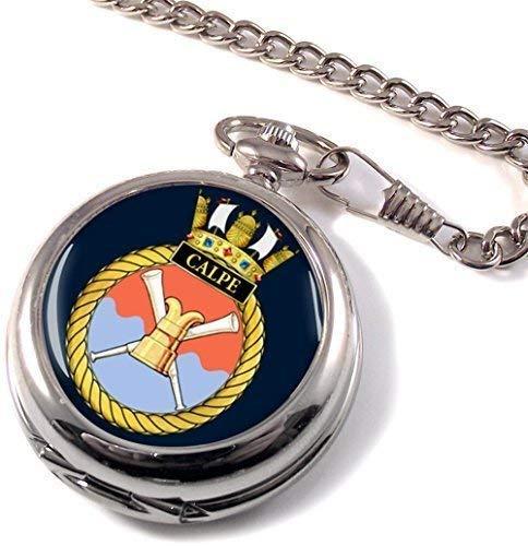 HMS Calpe Full Hunter reloj de bolsillo