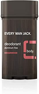 Every Man Jack Deodorant, Cedarwood, 3.0-ounce