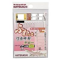 カツイチ(KATSUICHI) HW-5G ふわっとワカサギグロー 2521780.3号