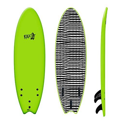 Rock-It 6' Albert Surfboard (Green)