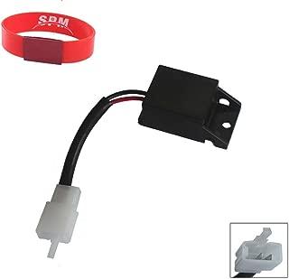 SPM 2-Pin LED Flasher Relay for Yamaha YZF-R1 YZF-R6 YZF600 FZ-6 FZ-8 FZ-1 FJR1300 TW200 WR250R XT250 FZ09