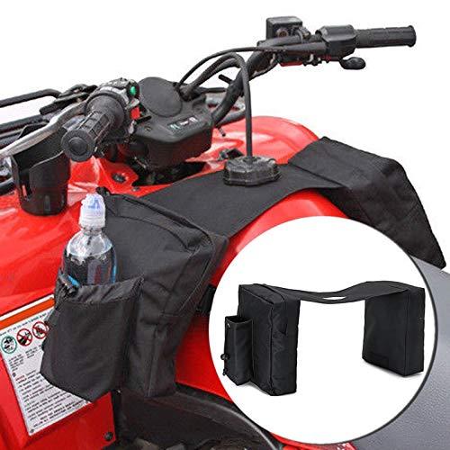 Bolso de la Motocicleta ATV Bolsa de sillín Equina Mochila Alforjas Bolsa for Polaris Bici de la Suciedad Ski-Doo Negro 21 * 28 * 26cm de la Motocicleta Bolsa de Accesorios