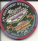 $5 tropicana 8th annual convention preserving gaming las vegas casino chip cc&gtcc