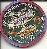 $5 tropicana 8th annual convention preserving gaming las vegas casino chip cc&gtcc