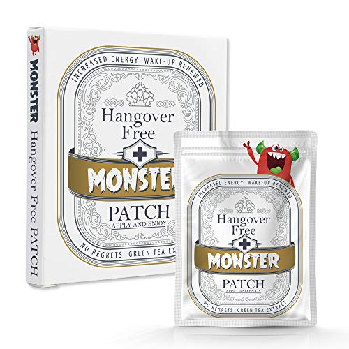 Hangover Patches Individually Packaged (10 per Convenient Carry Box). Vitamins (12) enriched to aid in Alcohol Recovery for The Morning After. Peace Out to Your Hangover.