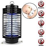 Lampe Anti Moustique,Intérieur Électronique Lumière Ultraviolet Lampe de Moustique, Anti Insectes Lampe Répulsif Moustique