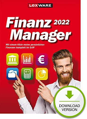 Lexware FinanzManager 2022 Download|Einfache Buchhaltungs-Software für private Finanzen und Wertpapier-Handel | Standard | PC Aktivierungscode per Email