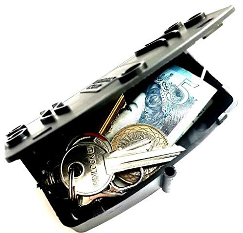 Caja de almacenamiento seguro de llave magnética al aire libre ocultada de la llave oculta seguridad segura - S4W