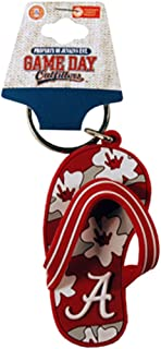 NCAA Alabama Crimson Tide Flip Flop PVC Keychain