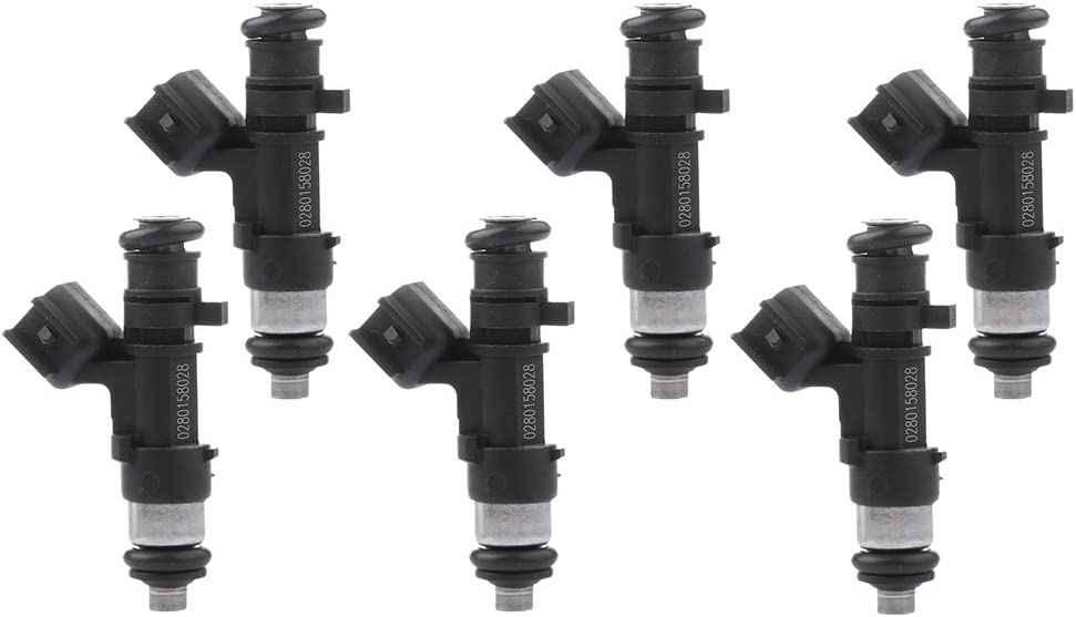 Fuel Injectors ECCPP 6pcs 4 Hole Injector f Selling rankings Compatible Special Campaign Kits