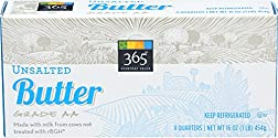 365 Everyday Value, Unsalted Butter, 16 oz