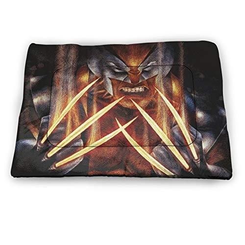 AMSYES X-Men- - Colchón para mascotas para perros pequeños, ropa de cama de mascotas, gatos , jaulas de perro, cojín para perros durmiendo 45,7 x 30,4 cm