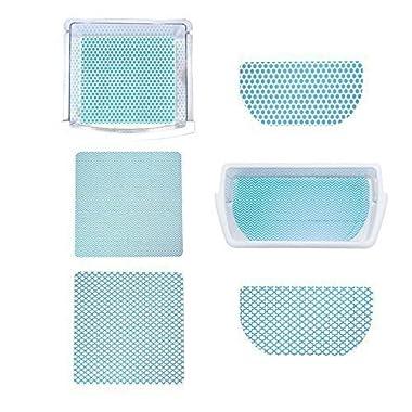 Fridge Coaster Combo Pack, Blue (Set of 6)