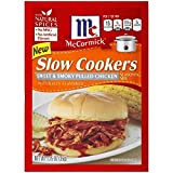 McCormick Slow Cookers Sweet & Smoky Pulled Chicken Seasoning Mix (Case of 12)
