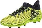 adidas X 17.3 FG, Chaussures de Football Entrainement Mixte Enfant, Jaune (Amasol/Tinley/Tinley), 37 1/3 EU