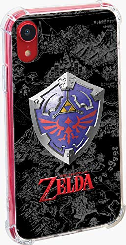 RDS Industries Officially Licensed Nintendo iPhone Case Zelda 'Hyrule Shield' for iPhone XR