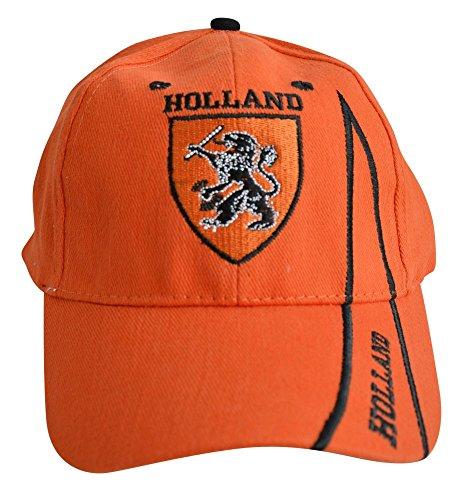 Flaggenfritze Kappe Motiv Holland Oranje Fahne, fan - Cap mit holländischer Fahne