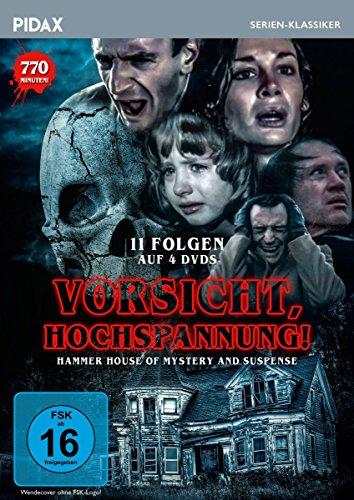 Vorsicht, Hochspannnung! (Hammer House of Mystery and Suspense) / 11 Folgen der Kult-Gruselserie (Pidax Serien-Klassiker) [4 DVDs]