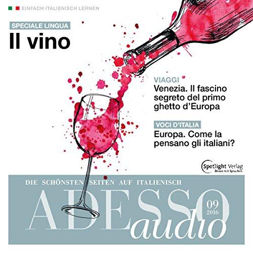 ADESSO Audio - Il vino. 9/2016 Titelbild
