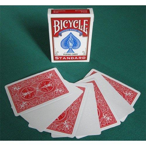 Carte Bicycle Magic Gaff dorso Rosso fronte Bianco