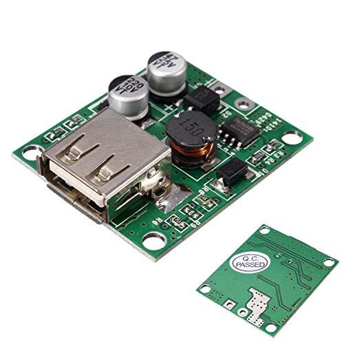 USB del banco de potencia del controlador de carga del módulo regulador de voltaje de 6V 20V de entrada for el panel solar 2A Smartphone universal 5V Regulador de voltaje