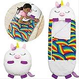 Happy Kids Nappers Juego Almohada, Divertido Saco De Dormir