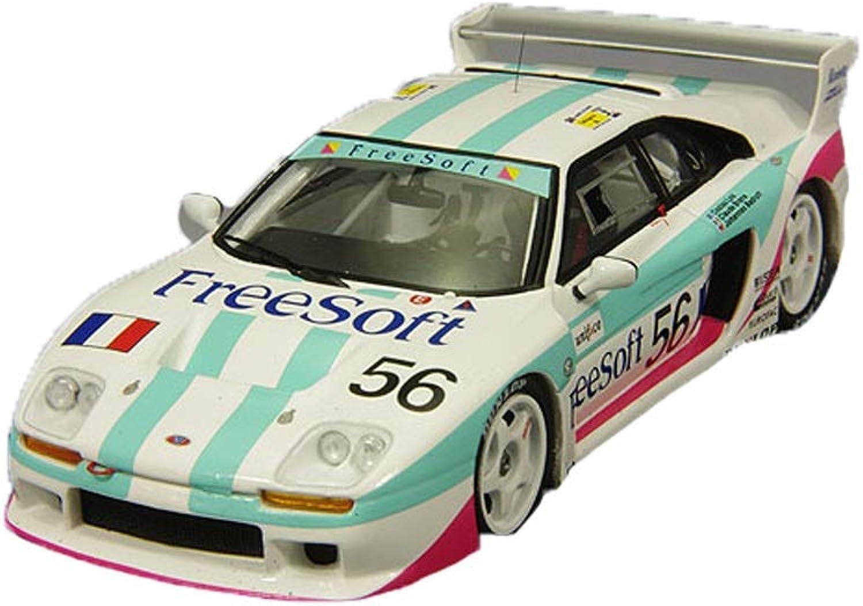 más descuento GAOQUN-TOY 1 43 Wintour Wintour Wintour Riman Sports Coche Modelo Venturi 500LM 56 Lemans 1993 (Color   blancoo, Tamaño   11cm4.5cm)  todos los bienes son especiales