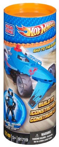 Hot Wheels Mega Bloks 91719 - Jeu De Construction - Bad to The Bladetm - Equipe Bleu