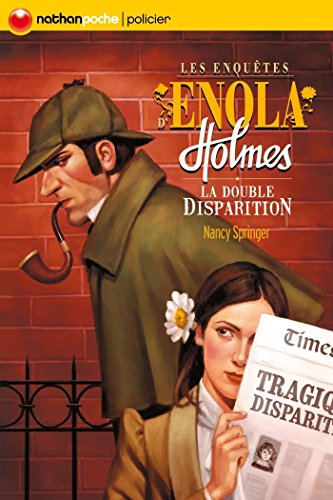 Book's Cover of La double disparition (POCHES NATHAN t. 1) Format Kindle