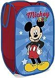 ARDITEX WD13014 Contenedor - Organizador Textil Rectangular de 36x36x58cm de Disney-Mickey