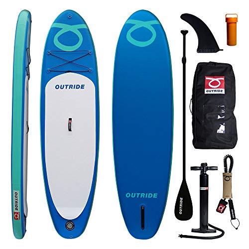 Outride Air Morea SUP hinchable 10' ligero y seguro (azul)