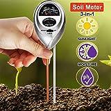 Best Soil Test Kits - WINZOOM Soil Tester,3-in-1 Soil Test Kit with Moisture,Light Review